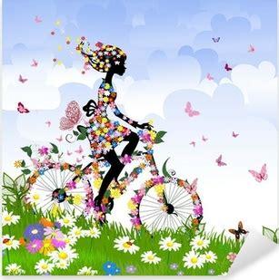 Aufkleber Fahrrad M Dchen by Fahrr 228 Der Aufkleber Pixers 174 Wir Leben Um Zu Ver 228 Ndern