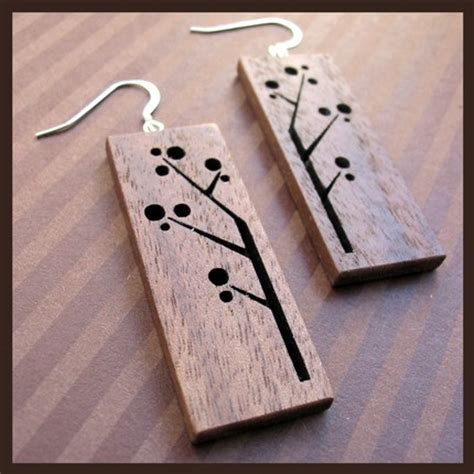 how to make wooden jewelry naturally inspired wooden jewelry gray suede