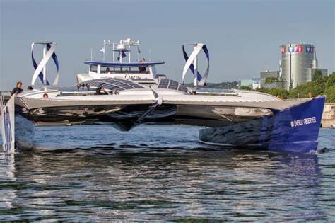 canal boat wind turbine self sufficient hydrogen boat embarks on 6 year journey