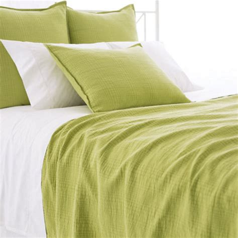 green matelasse coverlet pine cone hill kelly green matelass 233 coverlet ships free