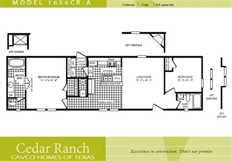 2 bedroom 1 bath mobile home floor plans 16 wide single wide mobile homes joy studio design