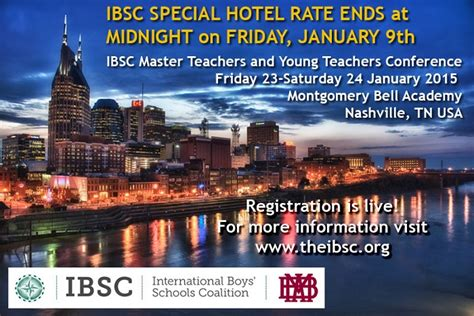 Nashville Mba Conference by Save The Date International Boys Schools Coalition