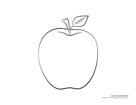 free apple templates apple templates coloring pages