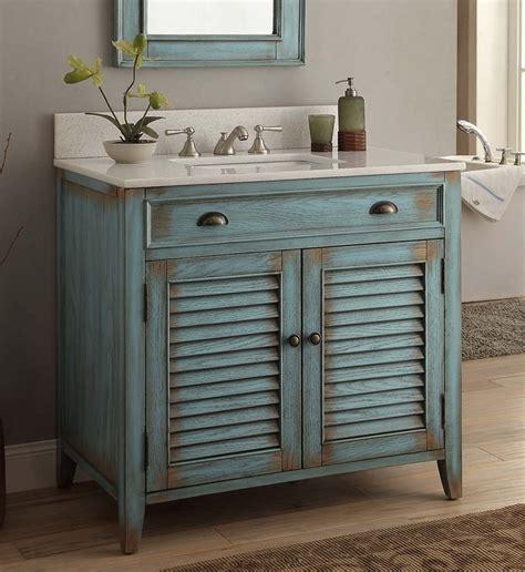 blue bathroom sink vanity 36 quot blue abbeville bathroom sink vanity cf28884bu