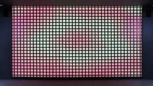 led wall turns your movement into vibrant visualizations