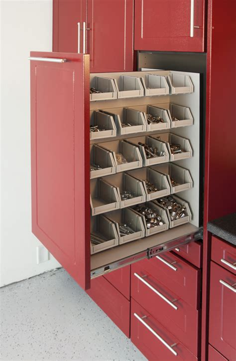 Garage Storage Systems With Cabinets Shelves Storage Bins And Slatwall Solutions Killer Ideas Organize Your Workshop Garage Storage Now Cnccookbook Be A Better Cnc Er