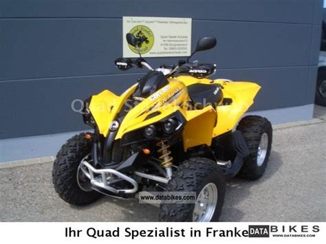 2007 Bombardier Can Am 800 Motorcycle Quad Photo 1   2017