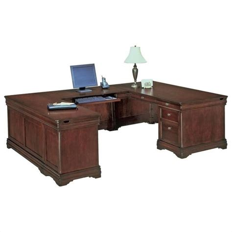 Dmi Rue De Lyon Executive U Shaped Desk Left U Desk Ebay Shaped Desks