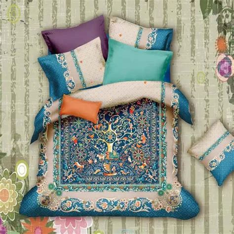 bohemian bed sheets vintage bohemian baroque bedding set queen king size bed