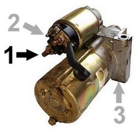 bench testing a starter motor part 3 how to test the starter motor on the car step by