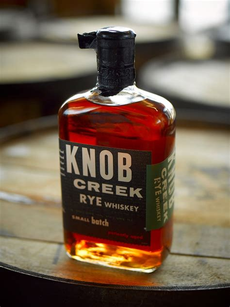 knob creek rye the dieline packaging branding design