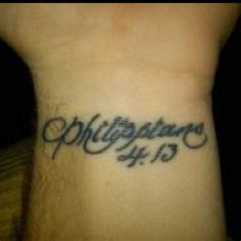 i can do all things through christ tattoo philippians 4 13 quot i can do all things through who