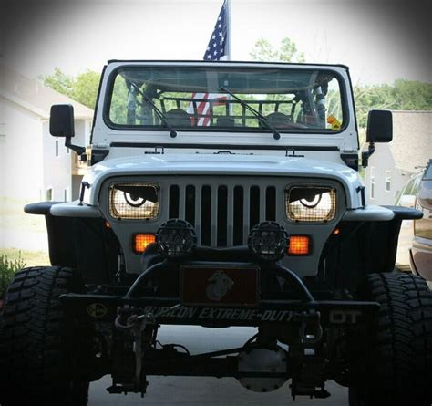 jeep angry headlights pin yj angry jeep wrangler forum on