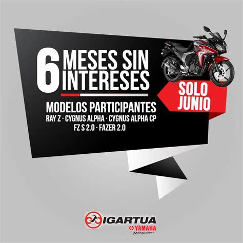 tenencia 2016 meses sin intereses en junio las motos est 225 n a 6 meses sin intereses en