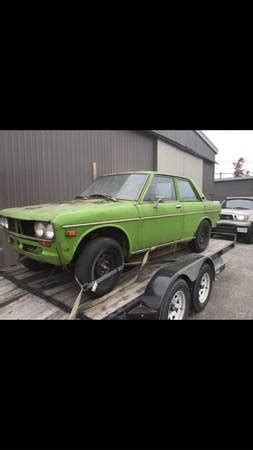 Car Rental Port Moody by 1972 Datsun 510 Project For Sale By Owner In Port Moody Columbia