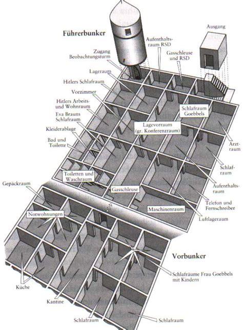 reich chancellery floor plan f 252 hrerbunker