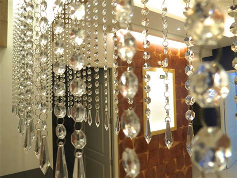 chandelier curtains hexagonal acrylic crystal chandelier memories of a