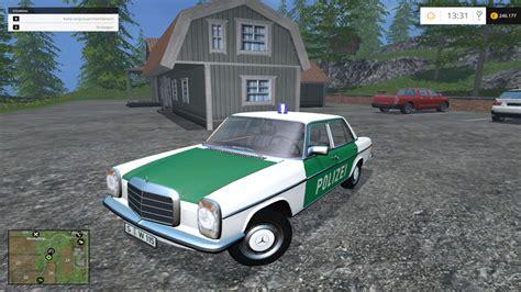 Minichs Mercedes 200 Polizei ls 15 mercedes w115 200d polizei v 0 1 beta pkws mod