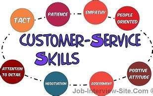 customer service skills list customer service skills exles
