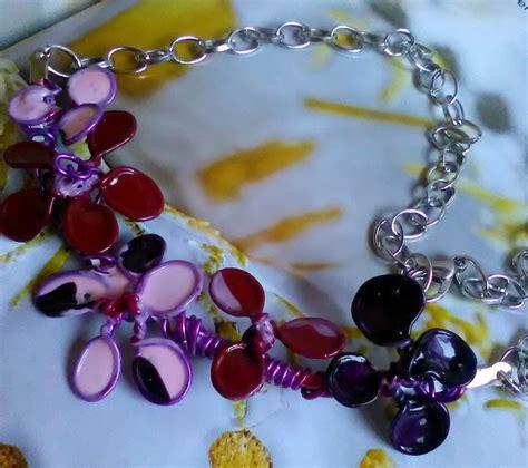 fiori con lo smalto collana con fiori in alluminio e smalto girocollo