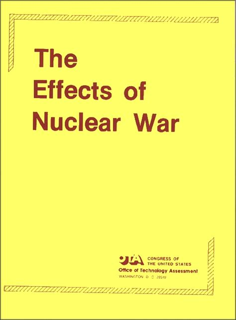 the effects of nuclear war tutorial on a nuclear weapon detroit or leningrad civil defense attack cases and term effects economic damage fictional account radiological exposure books 7906