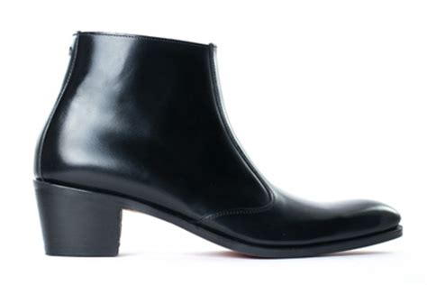 high heeled mens boots simon fournier luxury heeled shoes and boots for