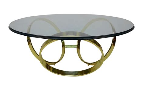 Brass Ring Table L by Brass Ring Coffee Table Chairish