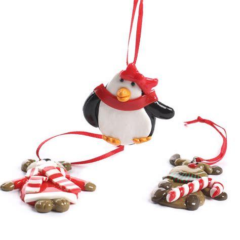 glossy clay christmas ornaments christmas ornaments