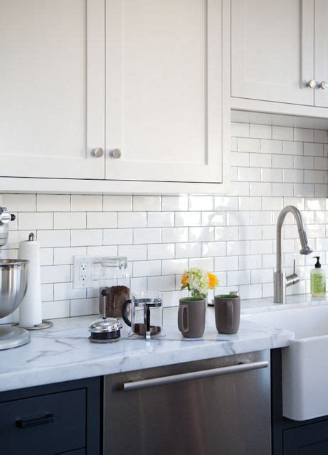 going vertical with subway tile apartment therapy the kitchn ryan s kitchen tour apartment therapy i
