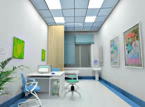 hospital clinic interior design rendering 3d house free