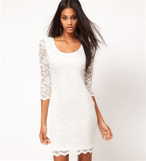 several reasons you must have a white lace dress trendy dress
