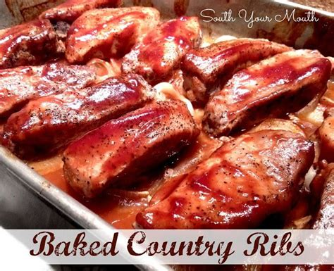recipe for country style ribs baked country ribs country ribs and roast