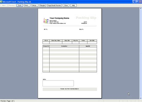 Creating A Packing Slip Template Or Packing List Template Excel Invoice Manager Packaging Slip Template