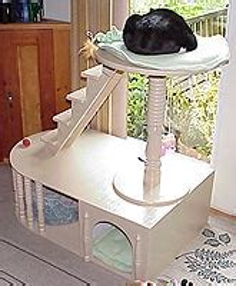 de bamboo ideas  diy cat furniture plans