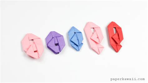 how to make an origami paperclip paper kawaii