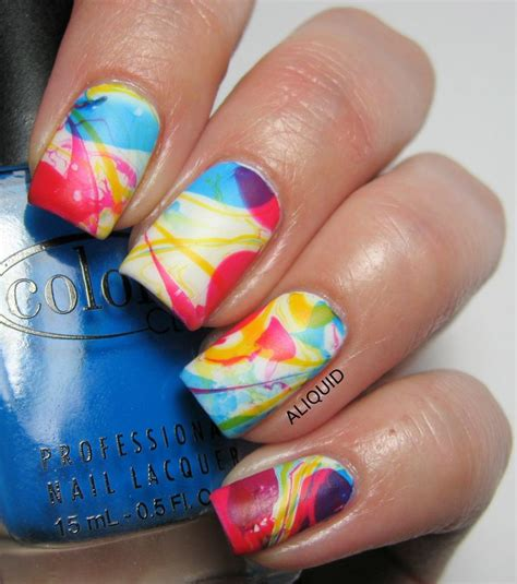 easy nail art bright colors 61 best images about swirls nails on pinterest bright