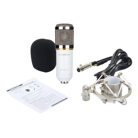 New Paket Karaoke Mikrofon Recording Studio Mic Bm 800 floureon bm 800
