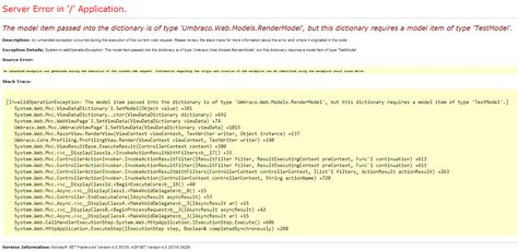 mvc layout null not working c the model item passed into the dictionary is of type