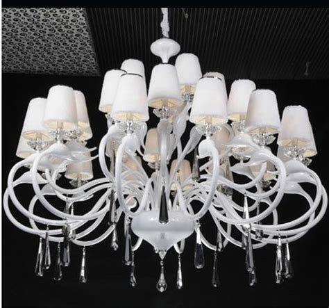 Large White Chandelier Awesome Large White Chandelier Large Chandelier Shades Chandeliers Design Luxurydreamhome Net