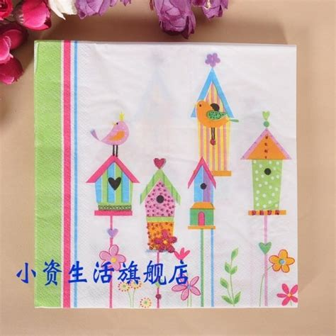 patterned paper dinner napkins online buy wholesale patterned paper napkins from china