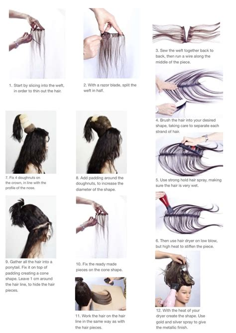 fantasy hairstyles step by step 93 best avant garde images on pinterest colourful hair