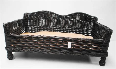 wicker bed wicker dog bed