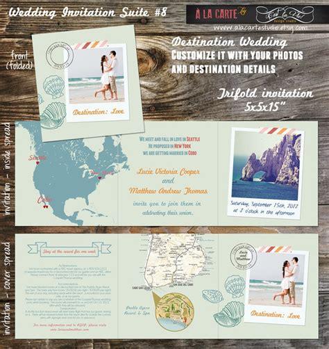 best destination wedding invitations 49 best destination invites images on invitation ideas invitations and wedding