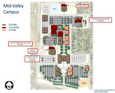 south texas college map mid valley cus weslaco south texas college