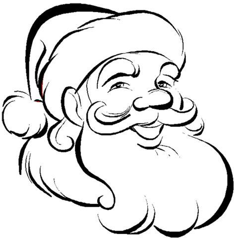 coloring page santa face santa claus face coloring pages az coloring pages