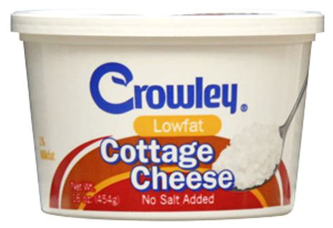 crowley foods 174 no salt added cottage cheese