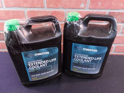 mazda extended coolant prediluted 55 45