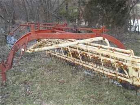 Used Farm Tractors For Sale Nh Hay Rake 2005 04 11