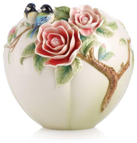 franz collection porcelain joyful bird figurine blue franz porcelain collection joyful spring blue chickadee
