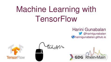 tensorflow tutorial github google developer groups talk tensorflow